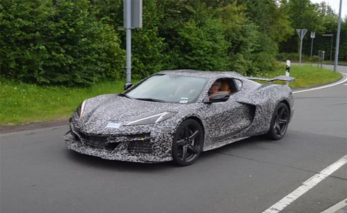 [SPIED] 2023 Corvette Z06 Driving on the Streets Around the Nurburgring