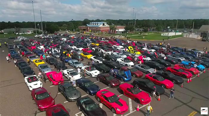 [VIDEO] Thousands of Toys Donated During Ciocca Corvette's Toys for Tots Corvette Run