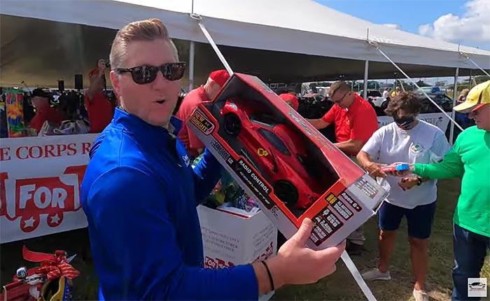 [VIDEO] Another Successful Toys for Tots Corvette Run with Ciocca Corvette of Atlantic City