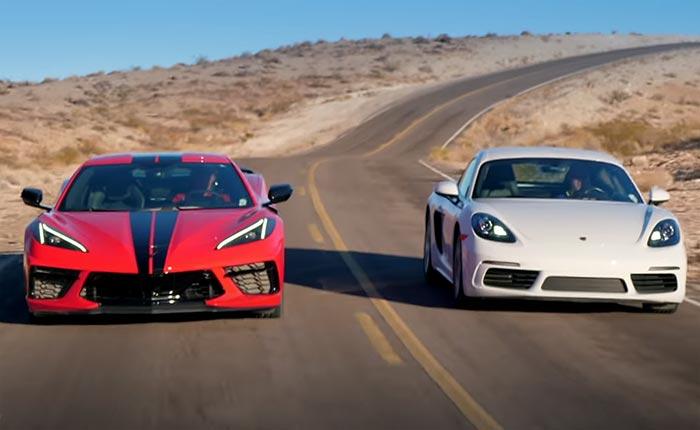 [VIDEO] Everyday Driver Comparison of the C8 Corvette vs Porsche Cayman as Best Mid-Engine Sportscar