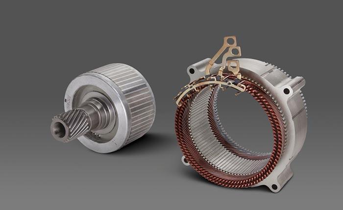 62-kW All-Wheel Drive Assist Motor
