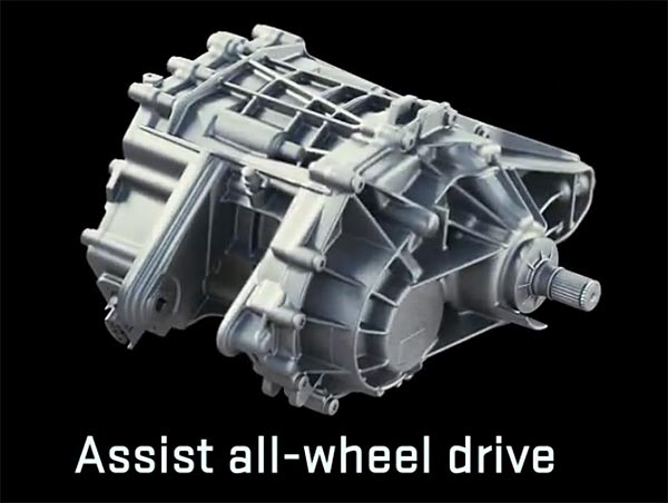 Assist All-Wheel Drive Assembly