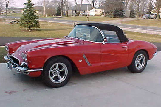 Friday's Featured Corvettes for Sale - Little Red Corvette Edition