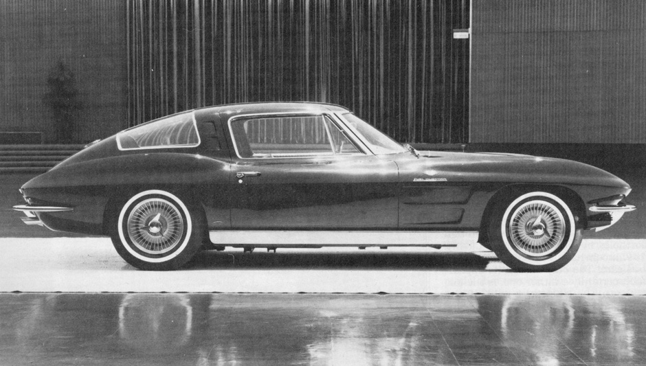 GM Archives: Corvette's Almost 4-Seater 1963 Split Window Coupe