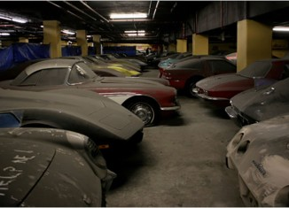 The Peter Max VH1 Corvette Collection is on the Move in NYC