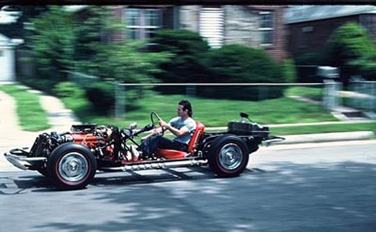 Corvette Oddball: Kevin Mackay's Drivable 1967 Corvette Chassis