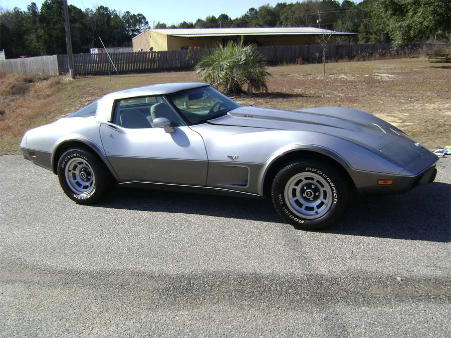 Corvette Values: 1978 Silver Anniversary Corvette
