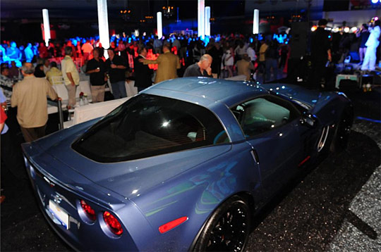 Barrett-Jackson Palm Beach 2010: 2011 Corvette Z06 Carbon Sold to Rick Hendrick