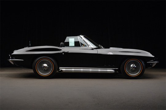 [VIDEO] Barrett-Jackson Palm Beach 2010: 1966 Corvette 427/425hp NOM