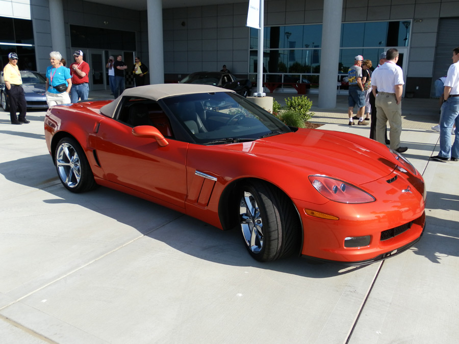 Introducing Inferno Orange on a 2011 Corvette