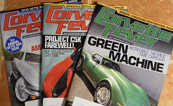 Corvette Fever to Cease Publication; Merge with Vette Magazine