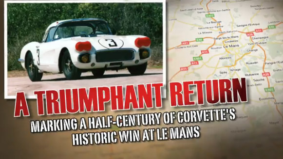 [VIDEO] 1960 #3 Le Mans Corvette Prepares for Historic Return to France
