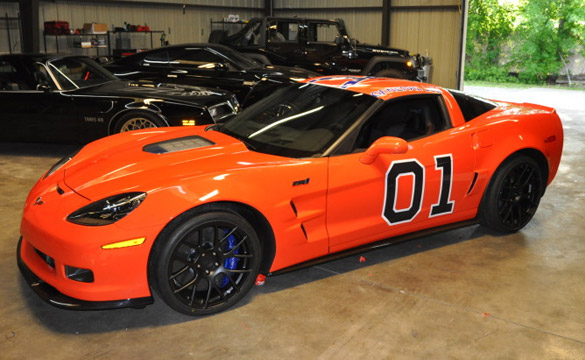 Is the World Ready for a General Lee Corvette ZR1?