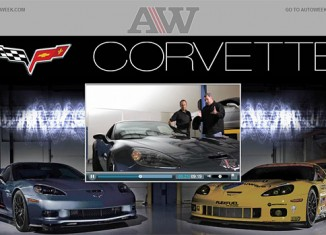 AutoWeek Video Highlights Racing DNA in the 2011 Corvette Z06 Carbon Edition