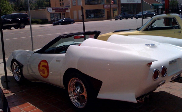 Oh No! Is SpeedRacer Selling His Mach 5 Corvette?