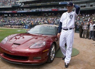 Chevy Awards Detroit Pitcher New Corvette Grand Sport for Near Perfect Game