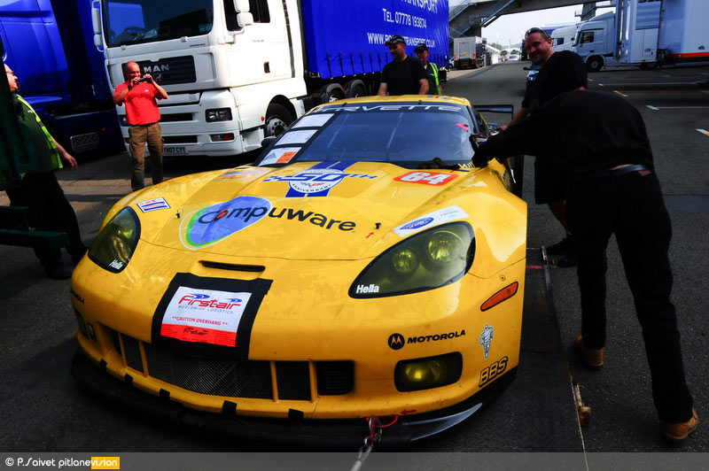 American Invasion: The Corvette C6.Rs Arrive at Le Mans