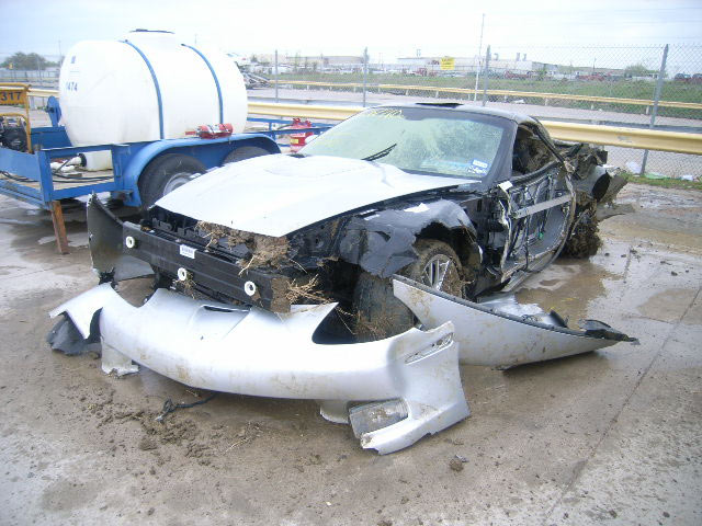 This Won't Buff Out: 2010 Corvette ZR1 Salvage Car