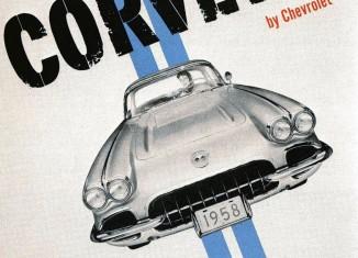 Corvette Ad Watch: 1958 Corvette Dealer Poster