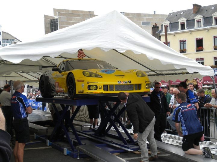 2010 Le Mans: Corvette C6.Rs Undergo Scrutineering for the 24 Hours of Le Mans
