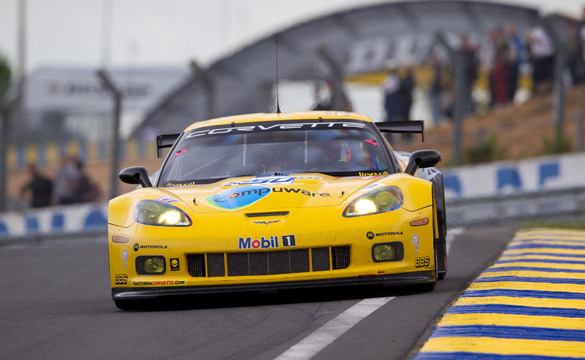 Breaking: #64 Corvette C6.R to Start on the Pole at the 24 Hours of Le Mans