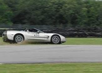 [VIDEO] A Corvette Racer's Scary Moment at Hallet Raceway