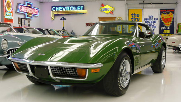 Corvettes on eBay: 1972 Corvette ZR1 - The Rarest of all Small-Block Chevy Corvettes