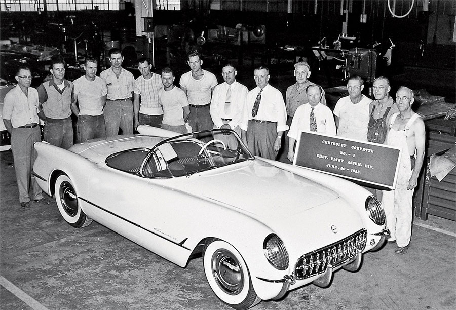 Happy Birthday Corvette! Iconic American Sports Car Turns 57 Today