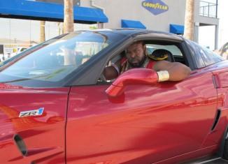 I Pity the Fool Who Races Mr. T in Bondurant's Corvette ZR1