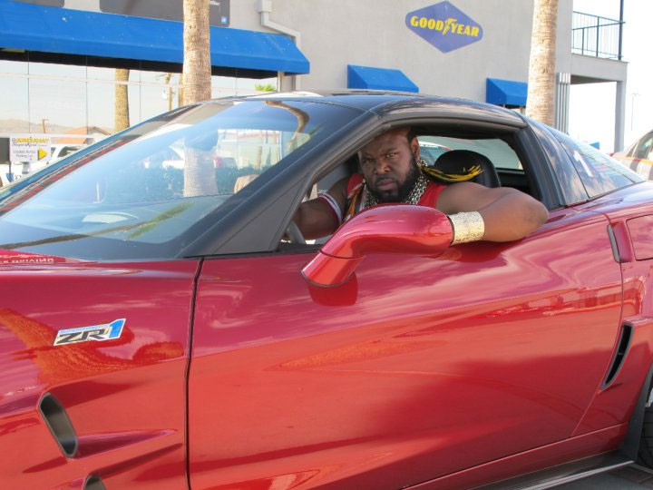 I Pity the Fool Who Races Mr. T in Bondurant's Corvette ZR1