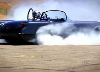 [VIDEO] Unholy Engine Swap: 1954 Corvette Roadster ZR1