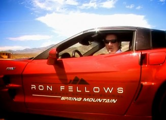 [VIDEO] Chevrolet Corvette ZR1 Track Attack with Ron Fellows