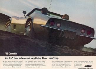 Corvette Ad Watch: 1969 Corvette Magazine Ad