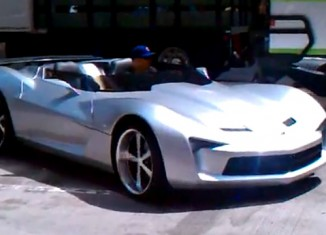 [VIDEO] Transformers 3 Sideswipe in Alt Mode as the Convertible Corvette Stingray Concept