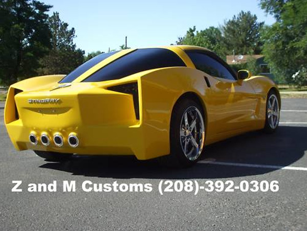 Corvettes on eBay: 2012 Stingray Concept Corvette Replica