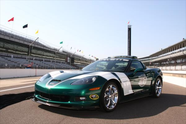 GM Goes Green with Brickyard 400 Corvette Pace Car