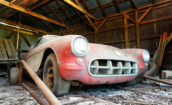 Mike Yager's 1957 Corvette Barn Find