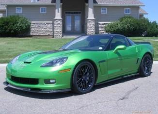 Green with Envy: 2010 Corvette Grand Sport in Camaro Synergy Green