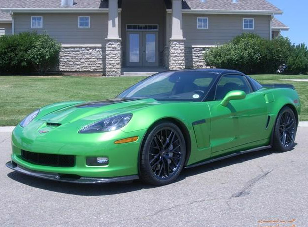 Green with Envy: 2010 Corvette Grand Sport in Camaro Synergy Green