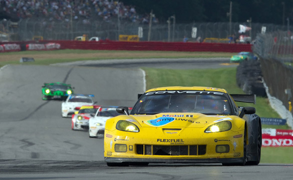 Corvette Racing Runner-Up in Mid-Ohio Sports Car Duel