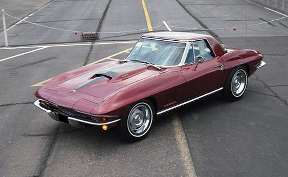 Countdown to Monterey: 1967 Corvette 427/435 hp Survivor