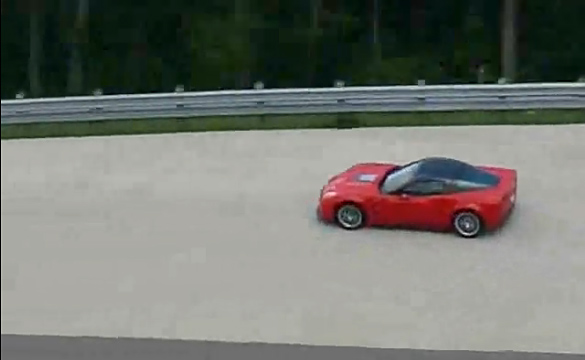 "[VIDEO] NASCAR's Juan Pablo Montoya Hits the ""Lutz Ring"" in a Corvette ZR1"