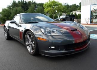 Blown Corvette Grand Sport Shows Awesomeness Despite Awkward Name