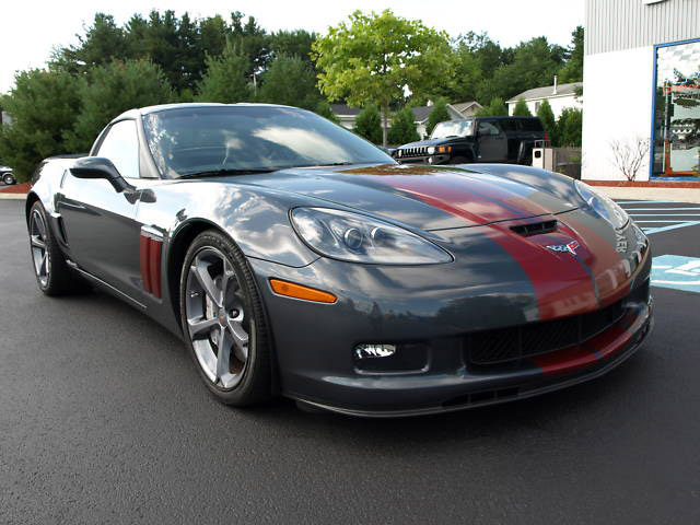 Blown Corvette Grand Sport Shows Awesomeness Despite Awkward Name