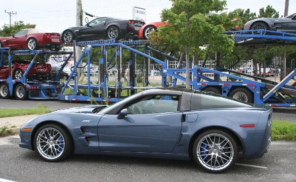 August 2010 Corvette Sales