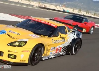 [VIDEO] Road vs Track Showdown: The Corvette C6.R and the ZR1