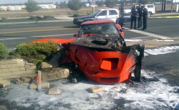 1980 Corvette Stolen and Crashed on Route 66
