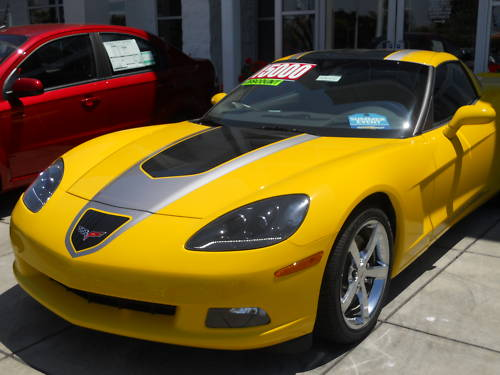 Corvettes on eBay: 2009 GT1 Championship Corvette #20