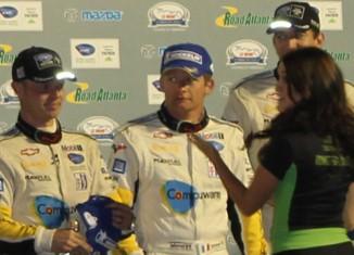 Corvette Racing Wins Petit Le Mans on Last Lap