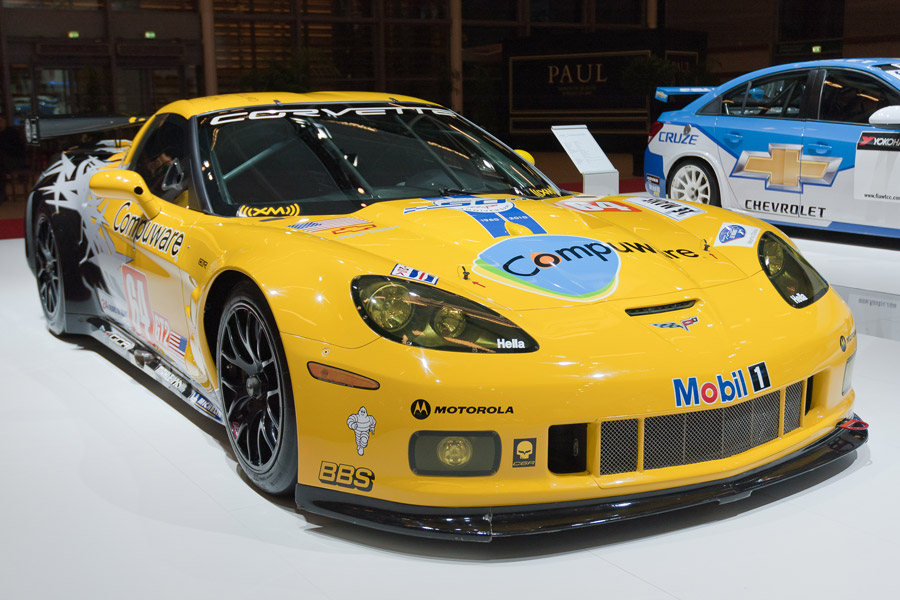 [PICS] An American in Paris: The Corvette C6.R at the Paris Motor Show